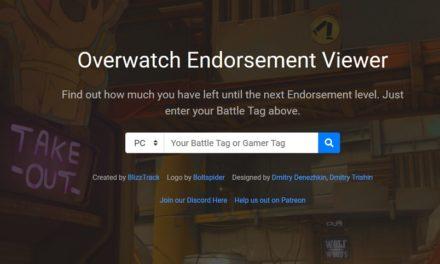 Overwatch: Endorsement Tracker – Cómo ver tu progreso en el juego