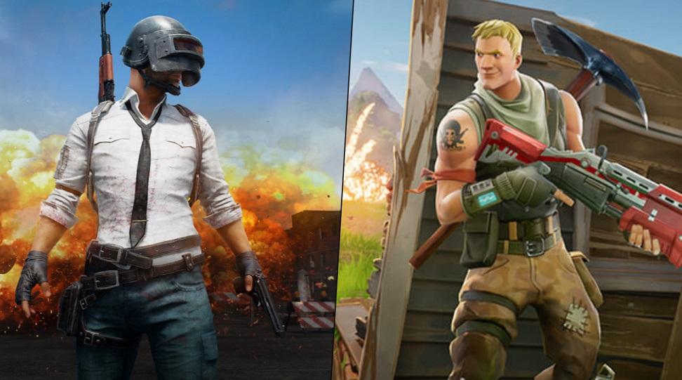 PUBG contra Fortnite: Comparación de los dos juegos más populares