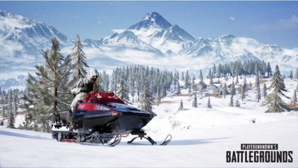 moto de nieve vikendi PUBG