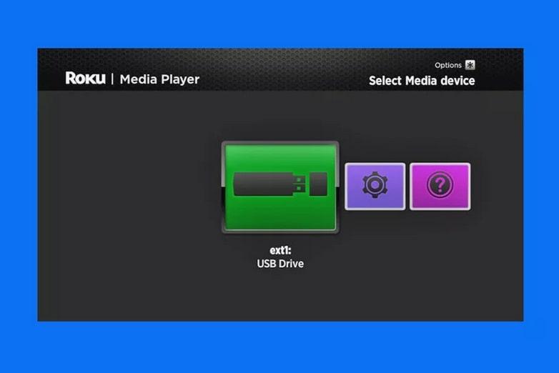 abrir roku media player USB
