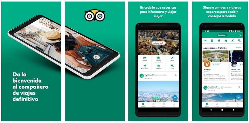 tripadvisor la aplicación social para viajes