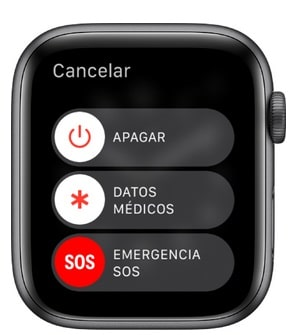 como apagar tu apple watch