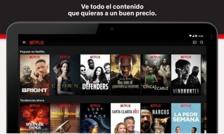 Cómo usar Netflix en tu tablet Android para ver tus pelis sin conexión