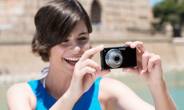 ¿Qué es una cámara de apuntar y disparar?