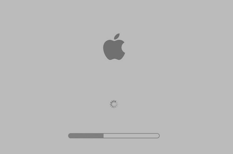 arreglar pantalla gris mac