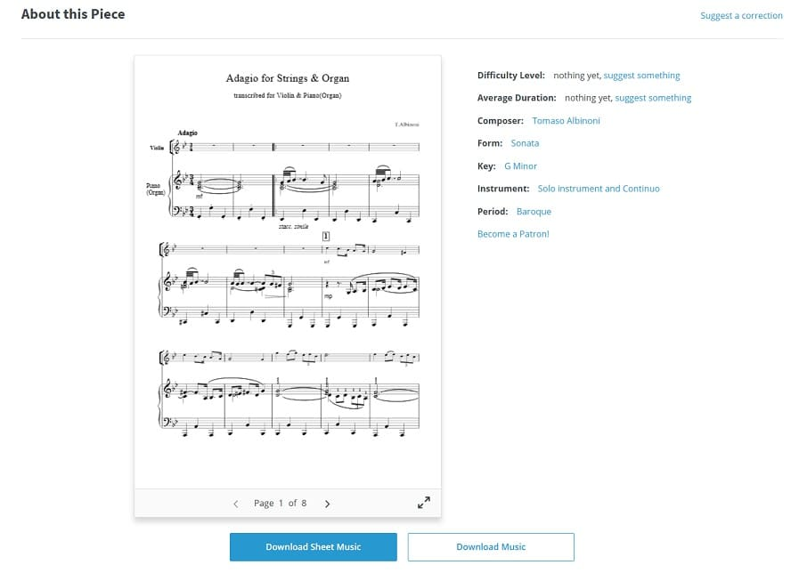 descargar partituras musica clasica musopen