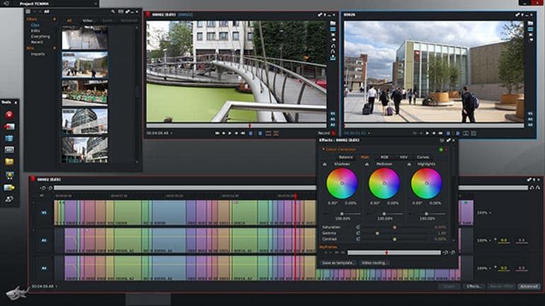 Software de edición de vídeo de Lightworks