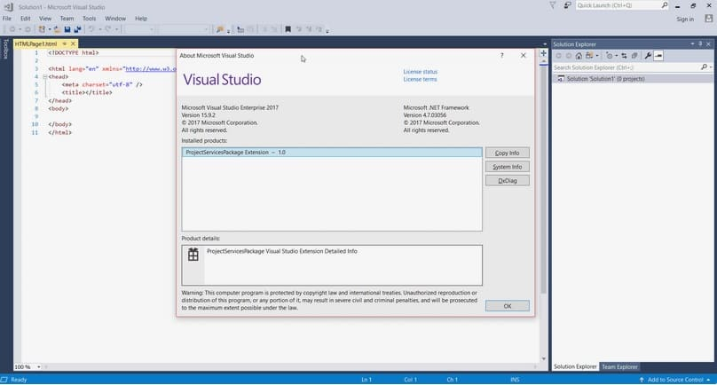 visual studio de microsoft
