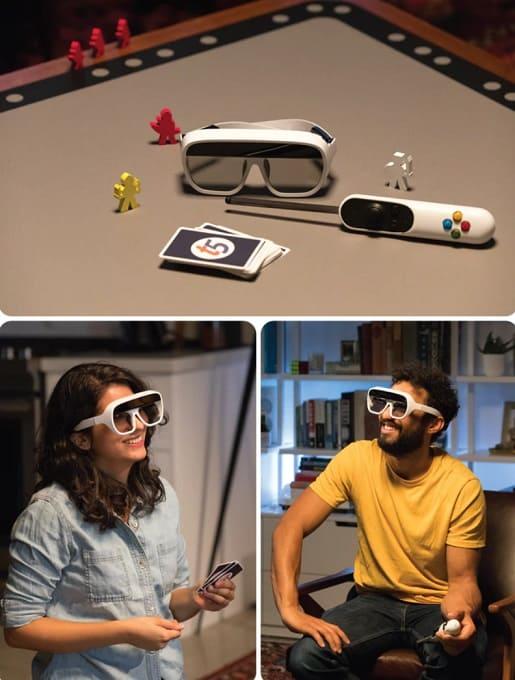 Tilt Five juego AR mando y gafas