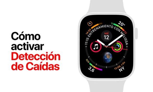 Cómo activar la detección de caídas y la configuración de contactos de emergencia en Apple Watch