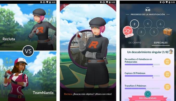 pokemon Go para móvil
