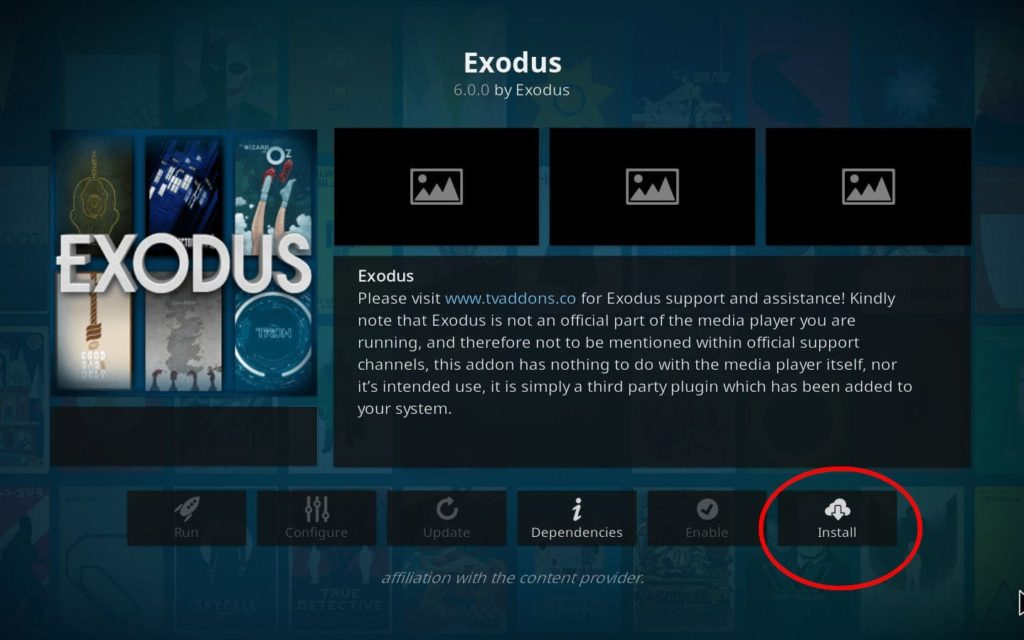 exodus addons
