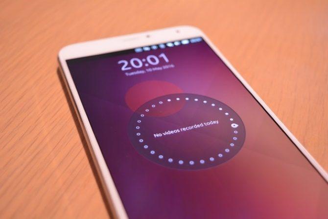 Ubuntu Touch handset