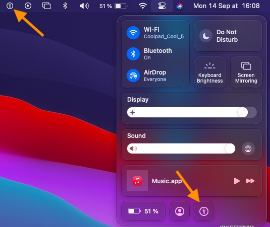Accessibility Shortcuts icon