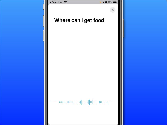 In Apple Translate on iPhone, speak the words you'd like to translate.