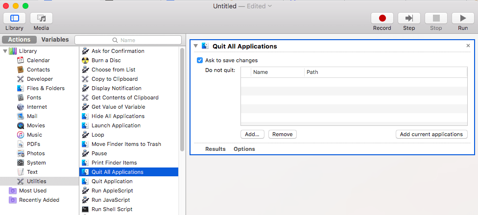 """You can create a """"quit all"""" application, in macOS' Automator."""