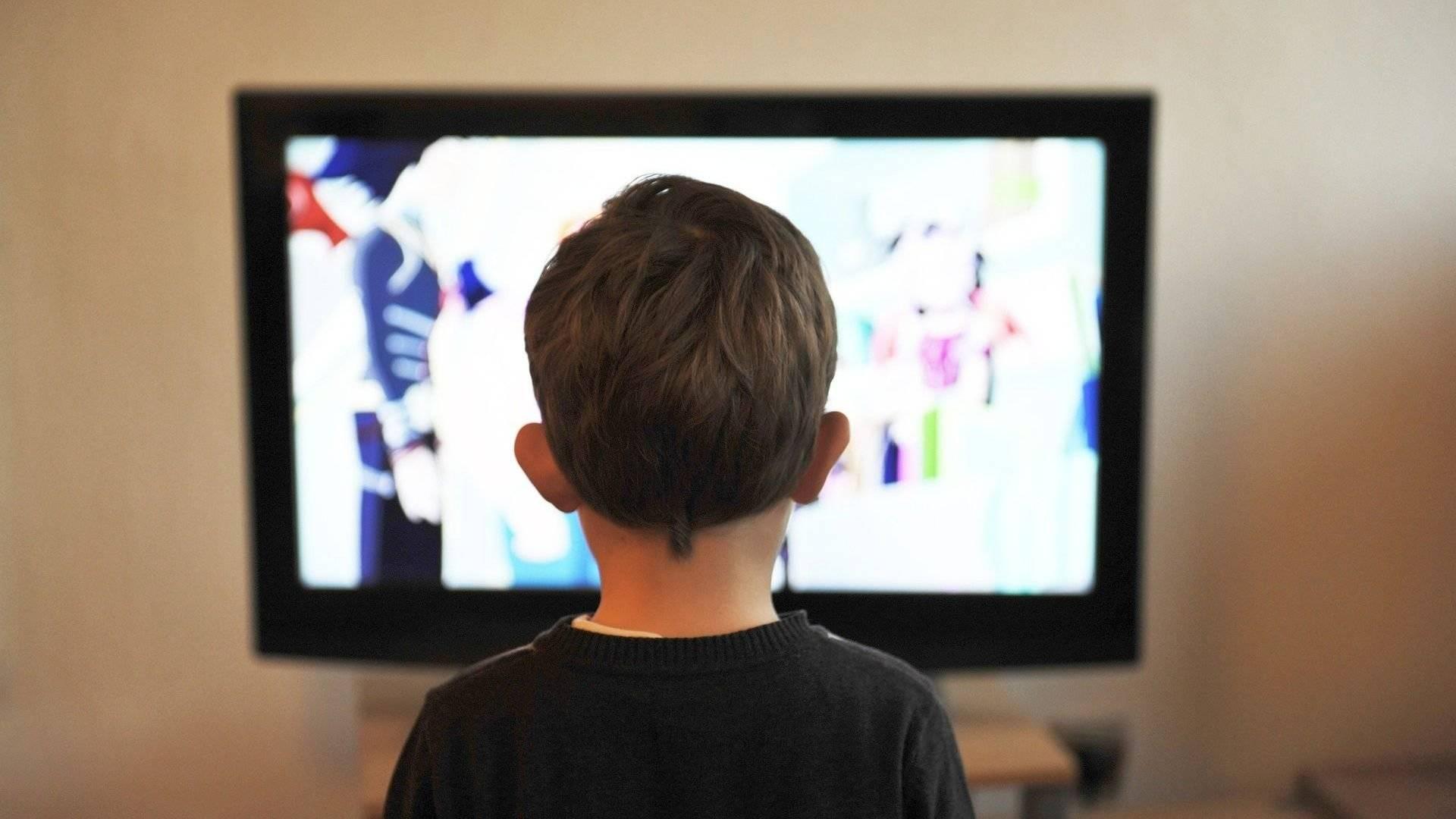 Pantalla de tv para niños de videojuegos
