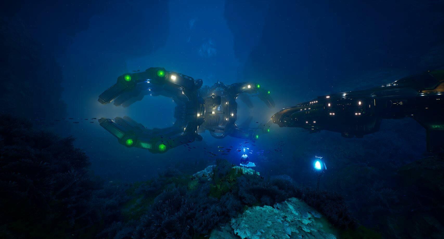 Descenso profundo Aquanox