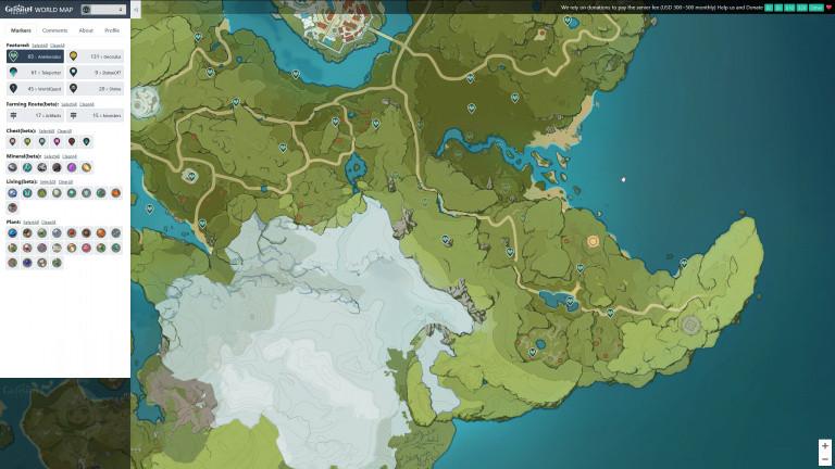 Genshin Impact, mapa interactivo: la herramienta definitiva para su exploración, nuestra guía de usuario