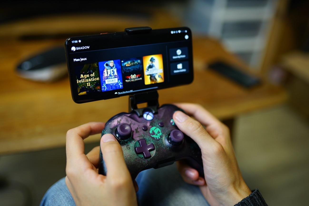 Shadow ofrece una interfaz simplificada en Android para acceder a sus juegos