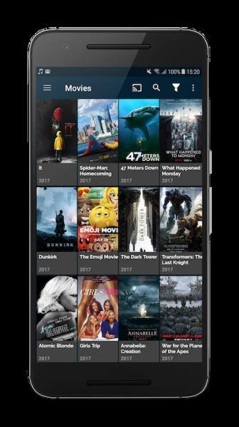 FreeFlix on smartphone
