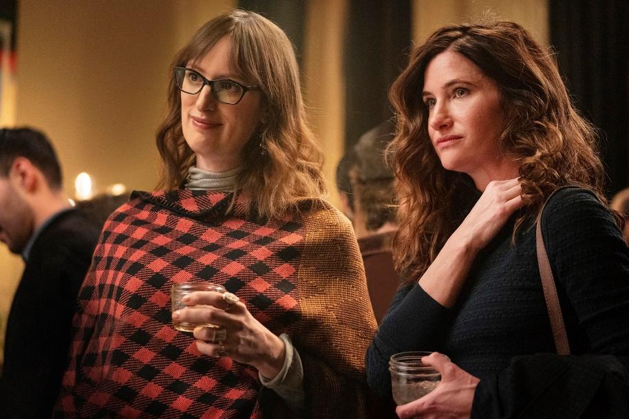 Jen Richards and Kathryn Hahn, <em>Mrs. Fletcher</em>