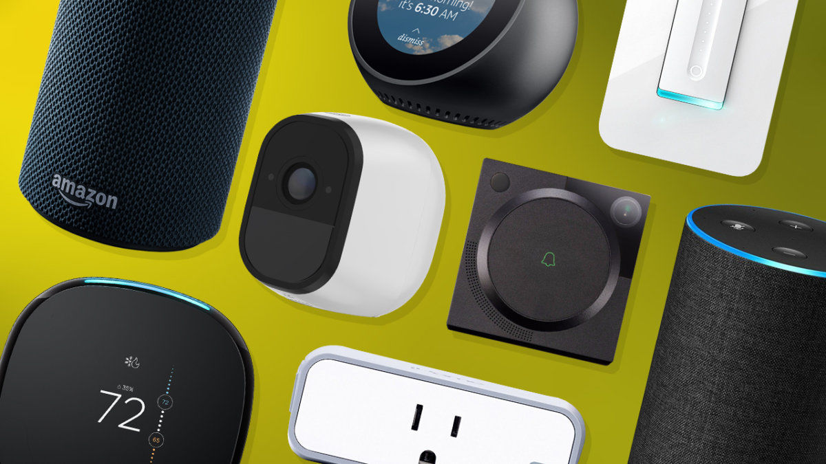 Vista previa de dispositivos compatibles con Alexa