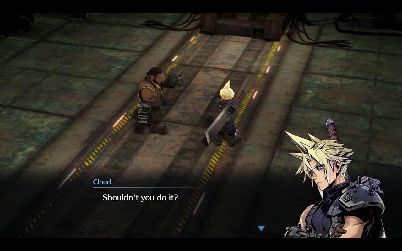 Los juegos móviles de Final Fantasy VII dan una idea del remake