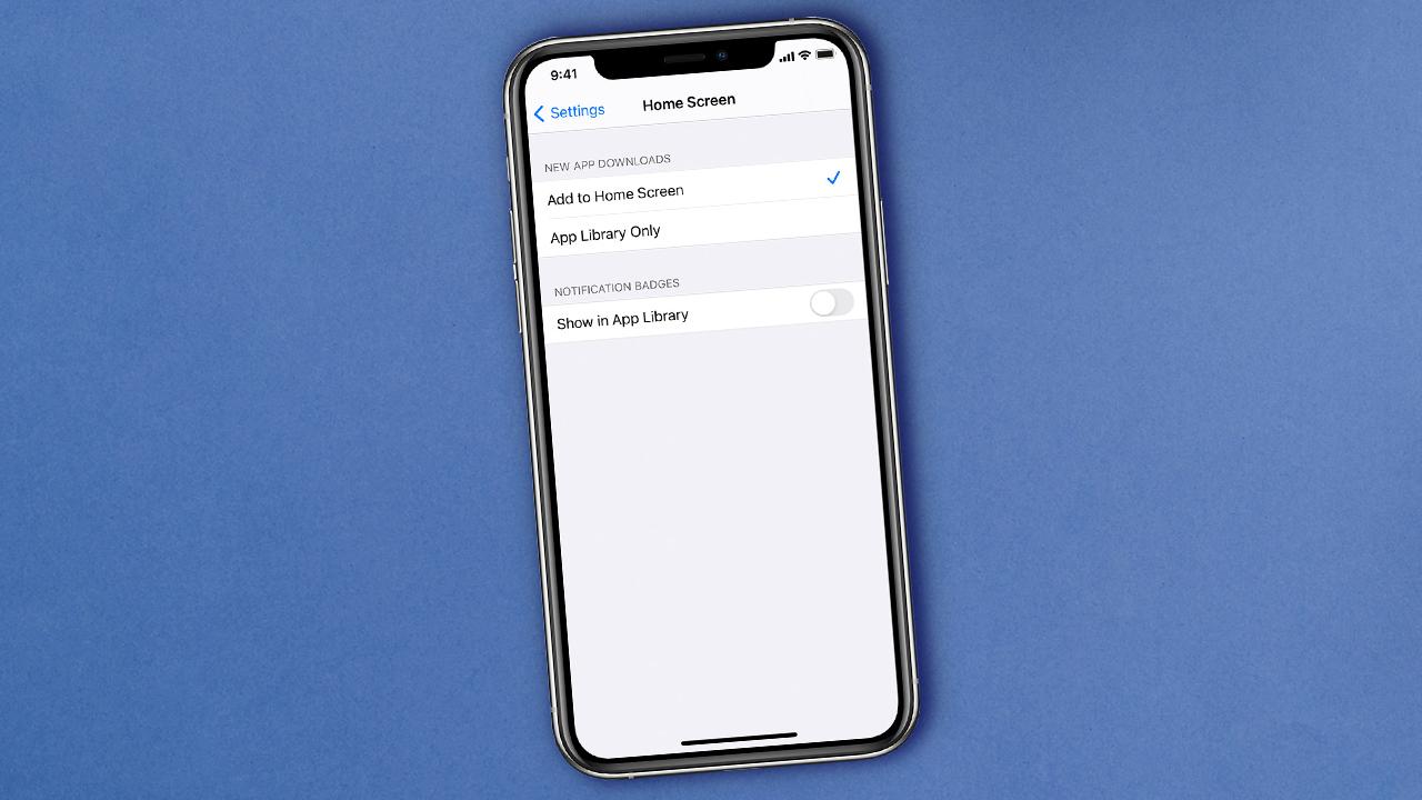 Configuración de la pantalla de inicio de la aplicación