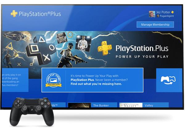 ps más ps juegos en línea PS4