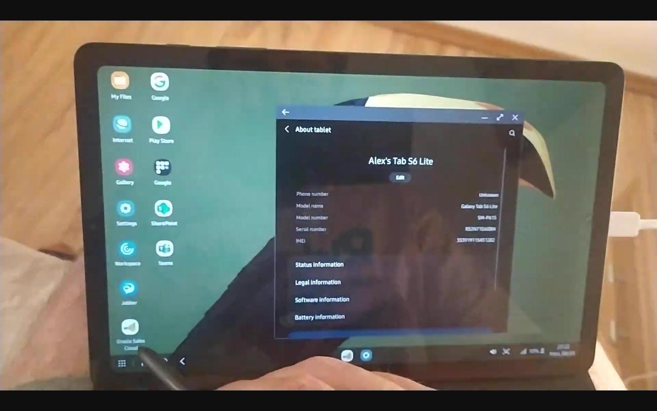 Galaxy Tab S6 Lite finalmente obtiene la función Samsung DeX