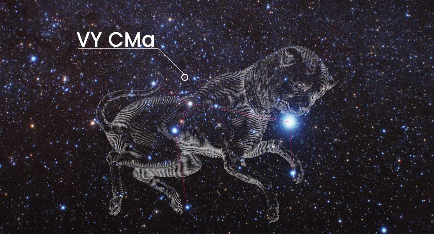 La tenue historia de la supergigante roja desvelada por el telescopio espacial Hubble