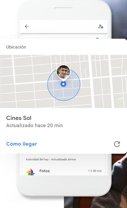 Utiliza el Google Family Link para saber dónde están tus hijos