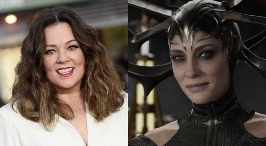 Thor: amor y trueno, Melissa McCarthy será Hela