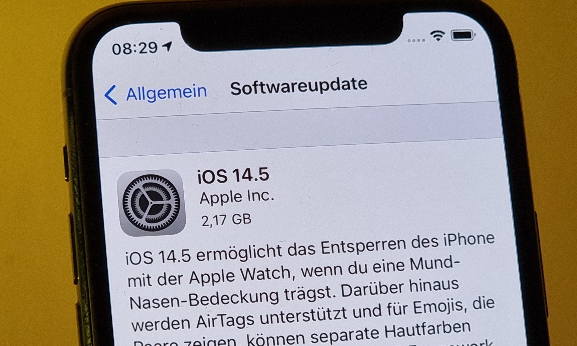 Aquí están todas las nuevas características de la actualización 14.5 de iOS