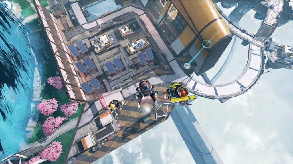Apex Legends Valyrie Skyward Dive
