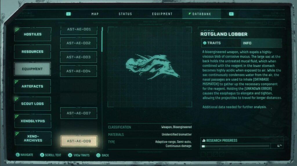 Devolución de las mejores armas Rotgland Lobber
