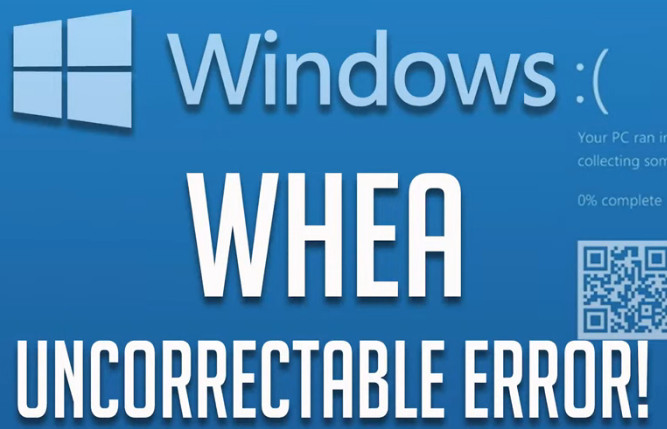Cómo Corregir el Error Pantalla azul whea Uncorrectable Error en Windows 10