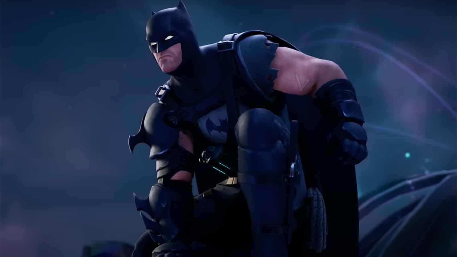 Traje blindado de Batman Zero en Fortnite