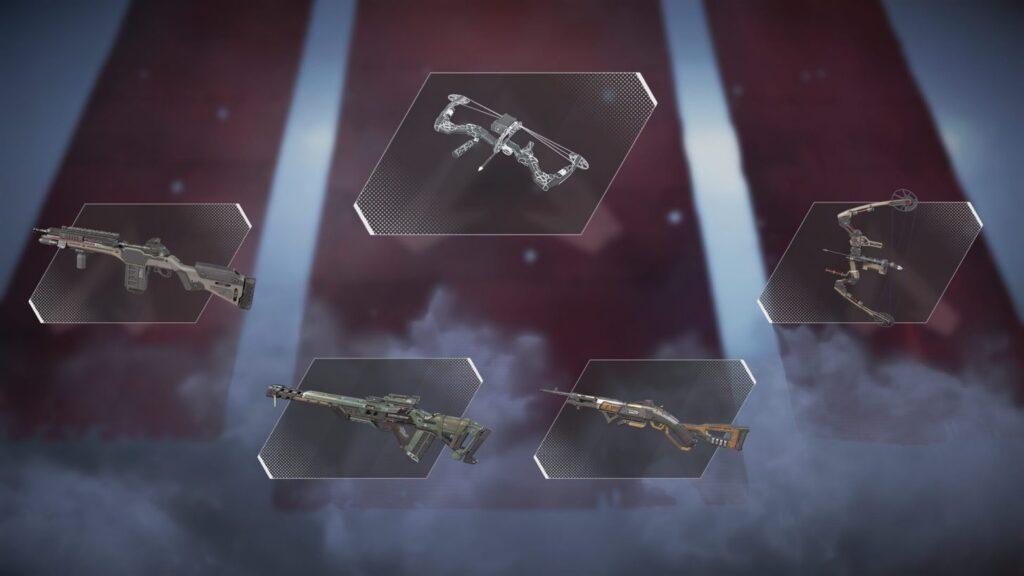 Rifles de tirador de armas Apex Legends