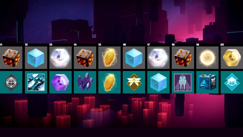 niveles 11-20 destiny 2 splicer pass