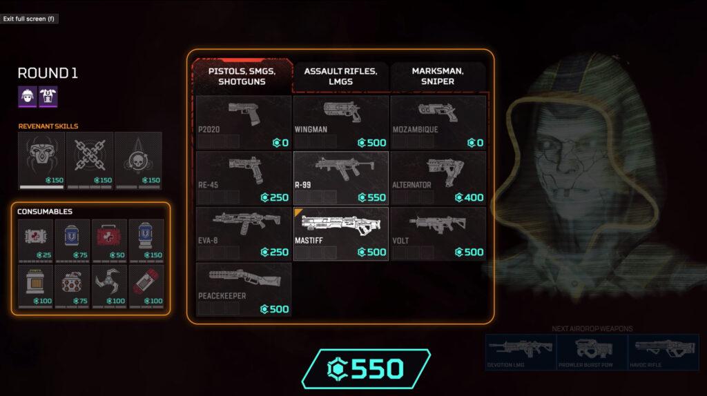 Armas de Apex Legends Arenas
