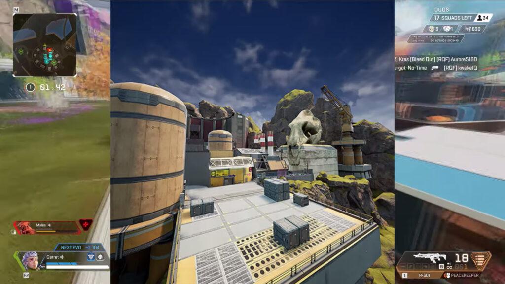 apex legends nuevo mapa de arenas