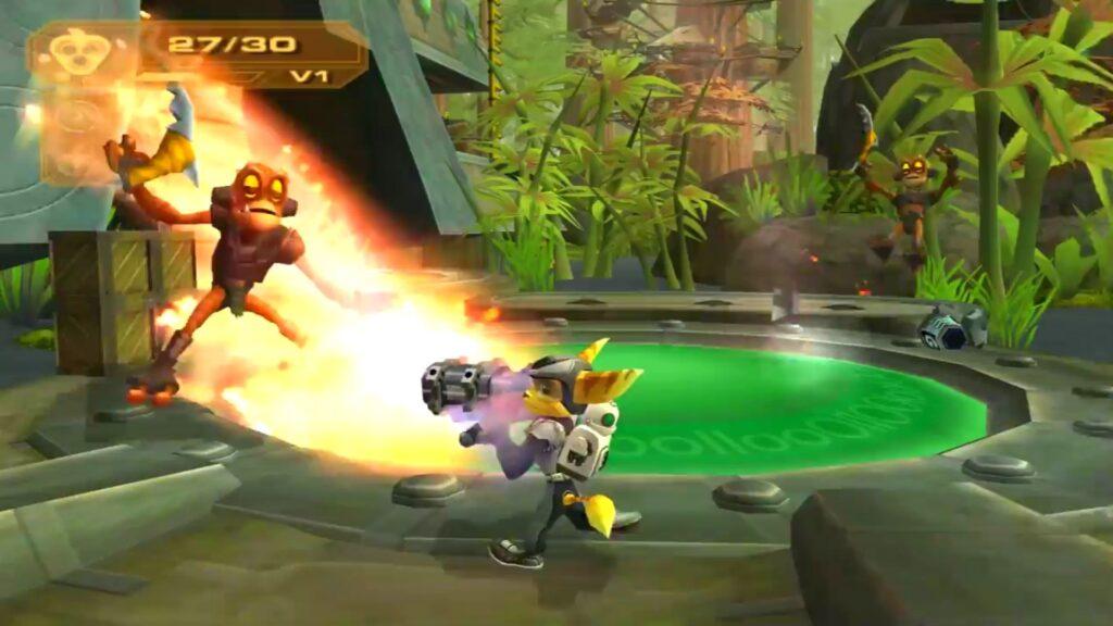 Ratchet & Clank: Mejora tu arsenal