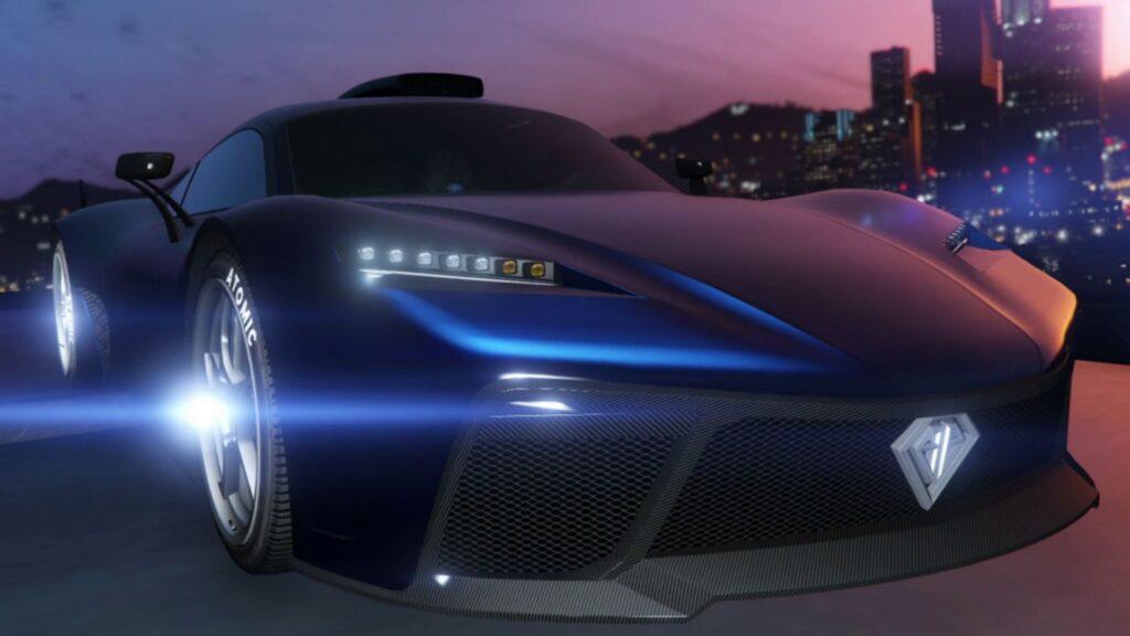 coche rápido de gta online