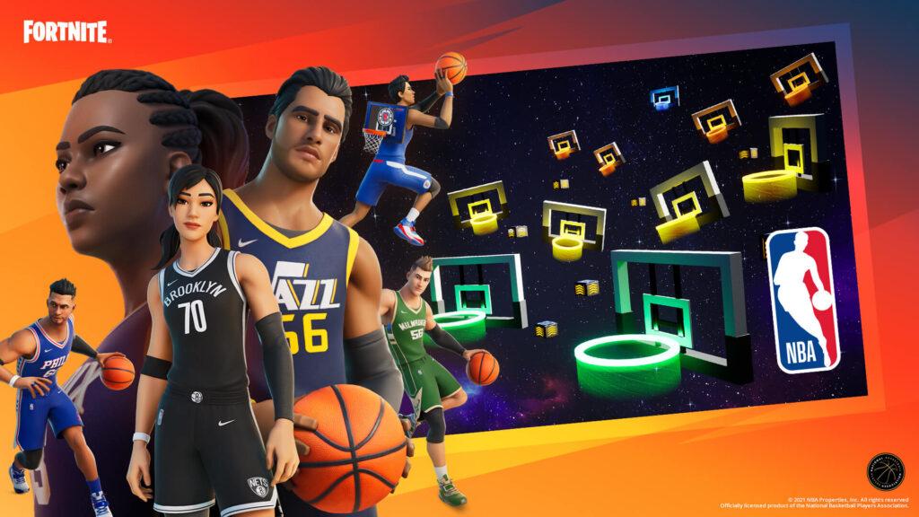 Centro creativo de la NBA de Fortnite
