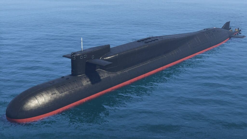 submarino kosatka de gta online