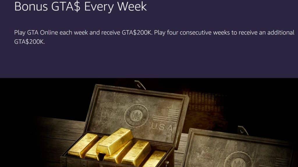 gta online prime juegos gratis GTA $