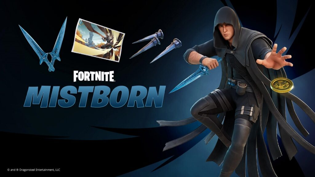 Cosméticos Fortnite Mistborn