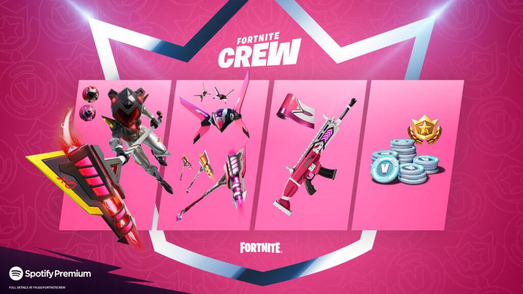 Recompensas de junio de Fortnite Crew